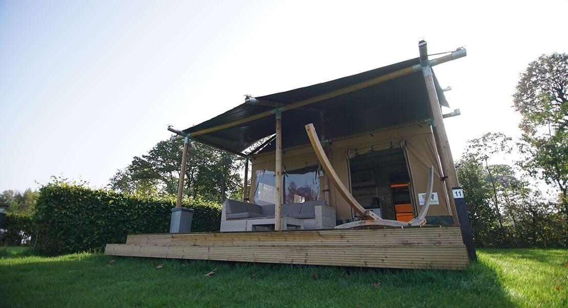 glamping tent luxe kamperen